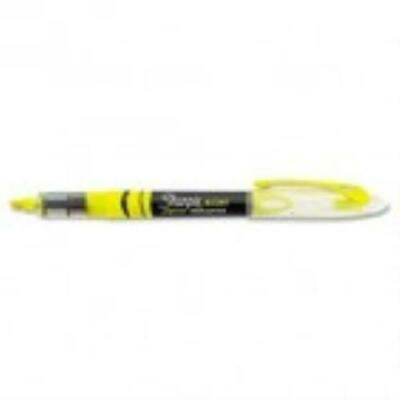 Sharpie Accent Liquid Pen Style Highlighter,Chisel Tip,Fluorescent Yellow,Dozen ()