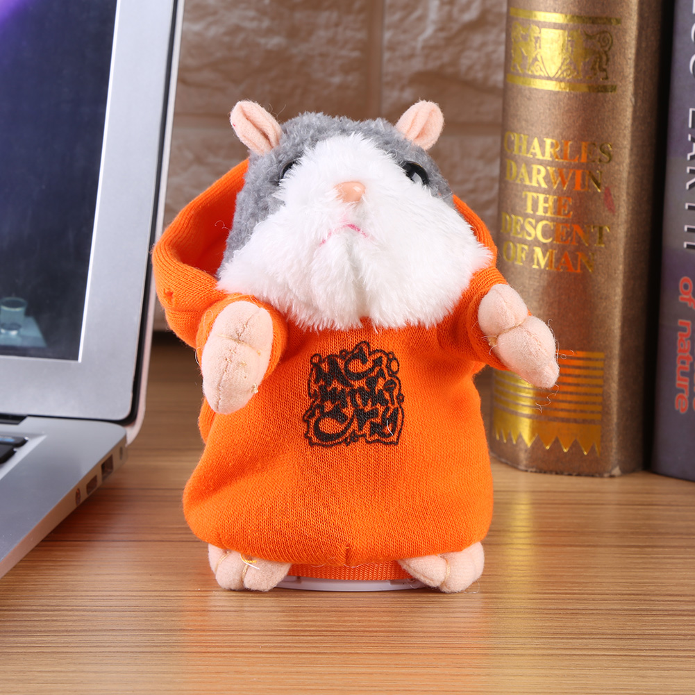 Adorable Lovely Talking Hamster Sound Record Speaking Plush Toy Early Learning Kids Baby Gift, Sound Record Hamster, Kids Plush Toy