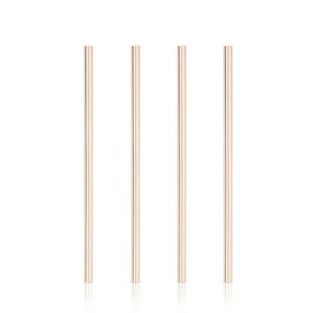 Summit: Wide Copper Cocktail Straws (VISKI)
