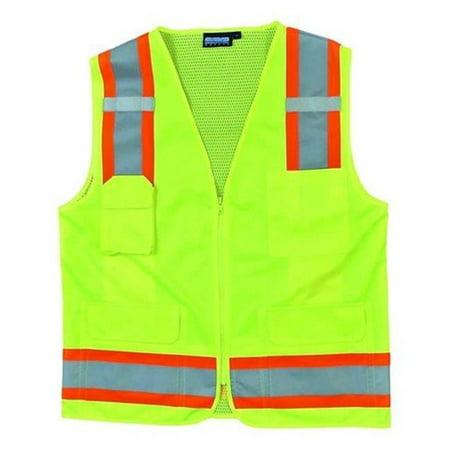 Portwest US380YERXS Tampa Mesh Vest Yellow Extra Small