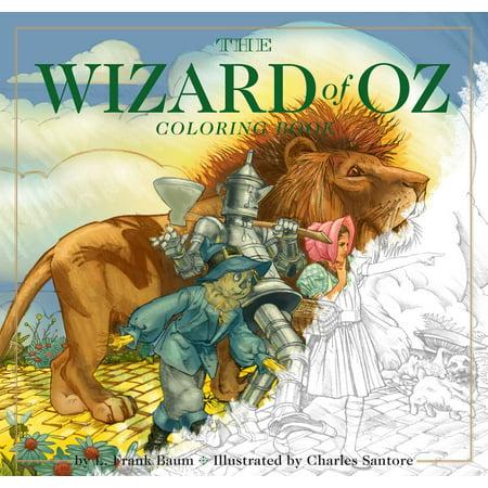 The Wizard of Oz Coloring Book (Wizard Of Oz Wedding)
