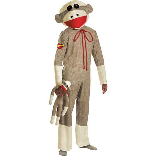Sock Monkey Adult Halloween Costume