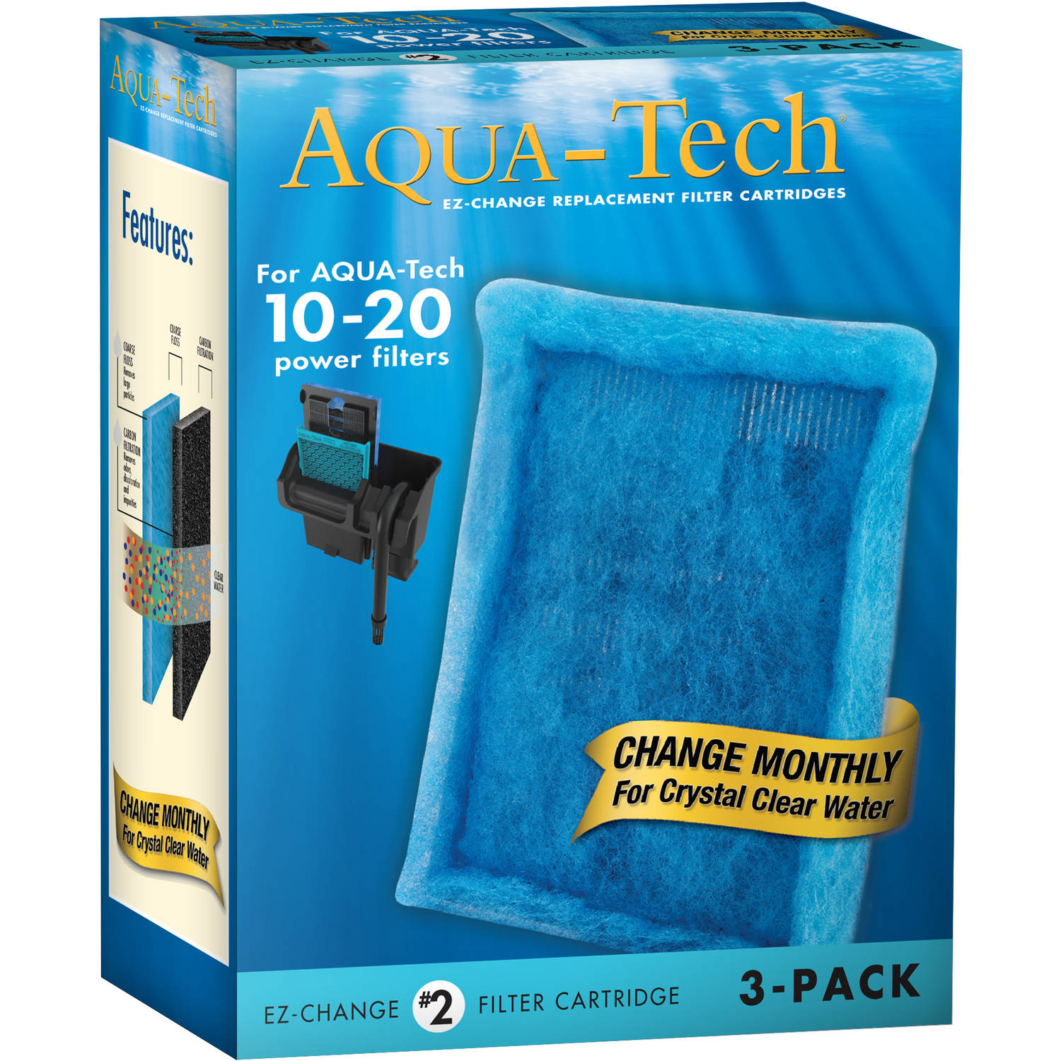 AquaTech 5-15 Filter Cartridge 3pk