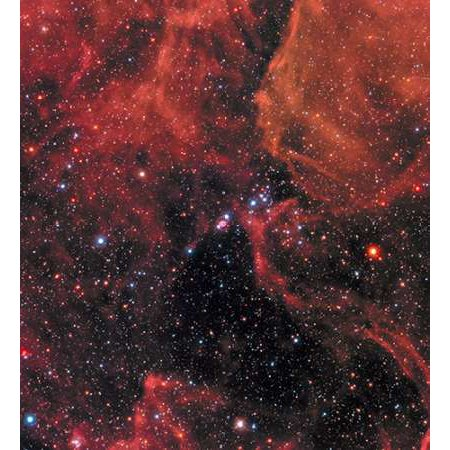 Wide View of Supernova 1987A Poster Print by Hubble Space