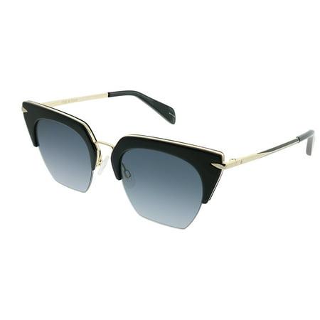Sunglasses Bone Stripe - Rag & Bone Del Rey RNB 1007/S 2M2 9O Womens  Cat-Eye Sunglasses