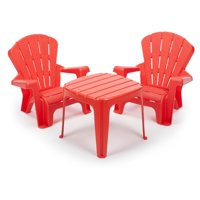 Little Tikes Garden Table and Chairs Set, Multiple Colors