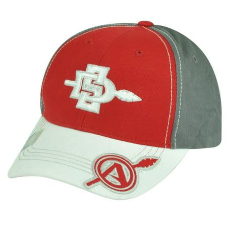 NCAA San Diego State Aztecs  Adjustable Red Captivating Headgear Hat Cap