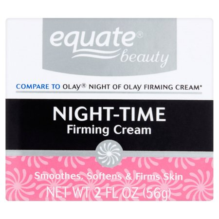 Equate Firming Night Cream Face Moisturizer, 2 Oz