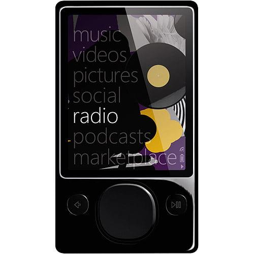 Zune 120GB MP3 Video Player, Black