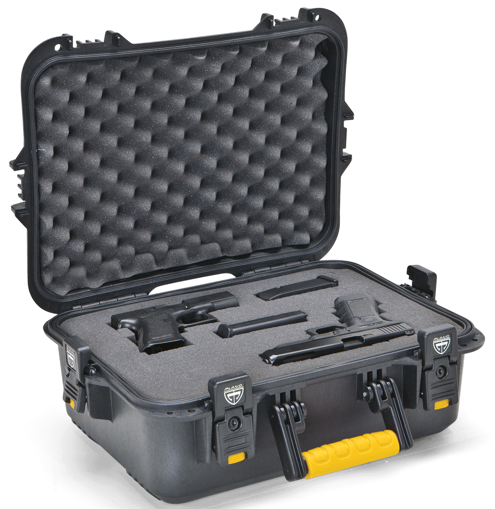 Plano All Weather Large Pistol & Accessories Case, Black