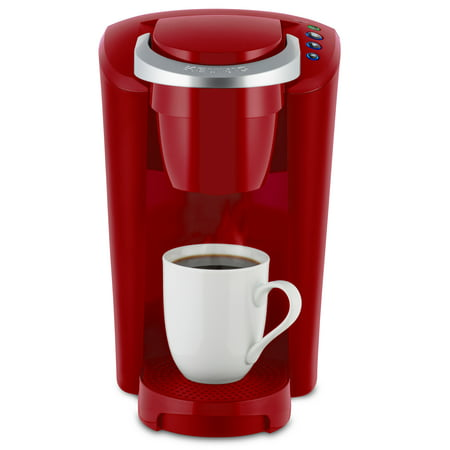 Acqui Single - Keurig K-Compact Single-Serve K-Cup Pod Coffee Maker, Imperial Red