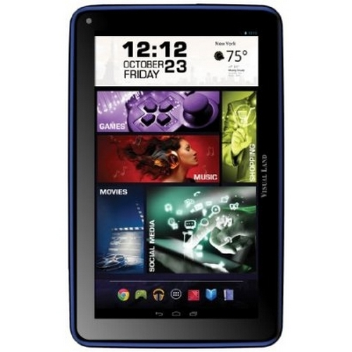 Refurbished Visual Land Prestige ELITE 7Q - 7 Quad Core 8GB Android Tablet, KitKat4.4, Google Play (Royal)