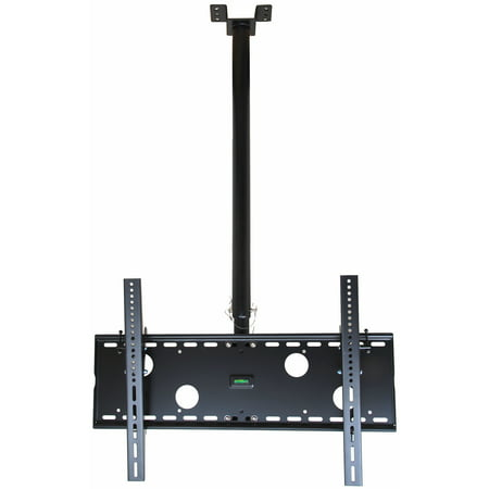 VideoSecu TV Ceiling Mount Tilt Swivel Bracket for Samsung most 39-65″ LCD LED Plasma HDTV UHD with VESA 700x400mm 3KW