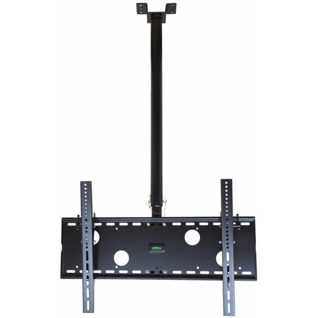 VideoSecu Tilt Pan TV Ceiling Mount for most 39-60″ LCD Plasma HDTV Some 65″ LED Panasonic Sharp Samsung VIZIO LG 3KW