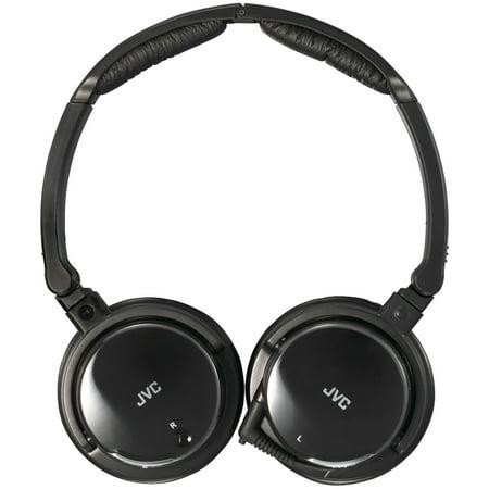 JVC HANC120 Noise-Canceling Headphones with Retractable