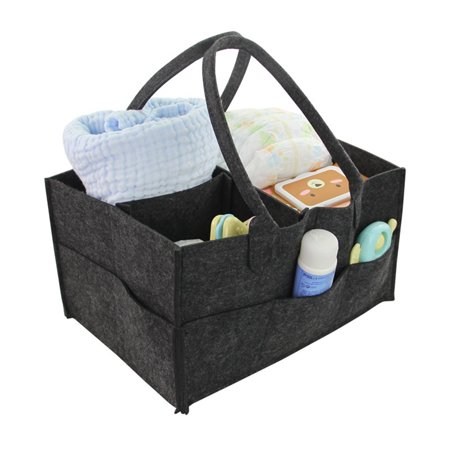 Baby Diaper Caddy Nursery Storage Bin And Car Organizer For Diapers Wipes