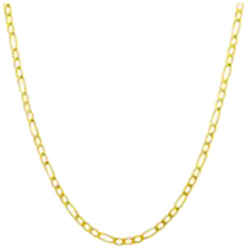 Simply Gold 10kt Yellow Gold Figaro Chain, 18