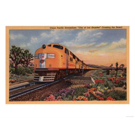 California - Union Pacific Railroad City of Los Angeles