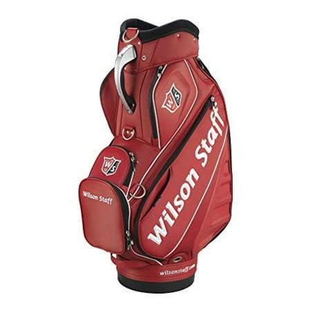 Wilson Staff Pro Tour Cart Bag, Red
