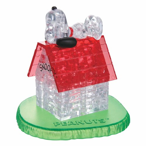 3D Crystal Puzzle, Snoopy House