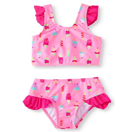 Ice Cream Tankini Swimsuit (Little Girls)
