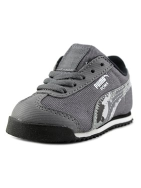 Product Image Puma Roma Denim Camo Jr. Youth Round Toe Canvas Sneakers 9f7030c35