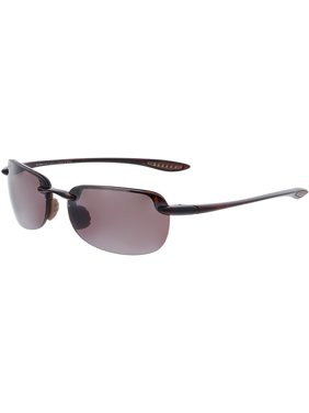 35c3ea45a51a Product Image Maui Jim Men's Polarized Sandy Beach R408-10 Matte Red Rimless  Sunglasses