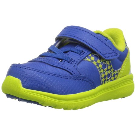 Kids Saucony Boys Jazz Lite Leather Low Top Lace Up Walking Shoes (Saucony Boy Toddler Shoes)