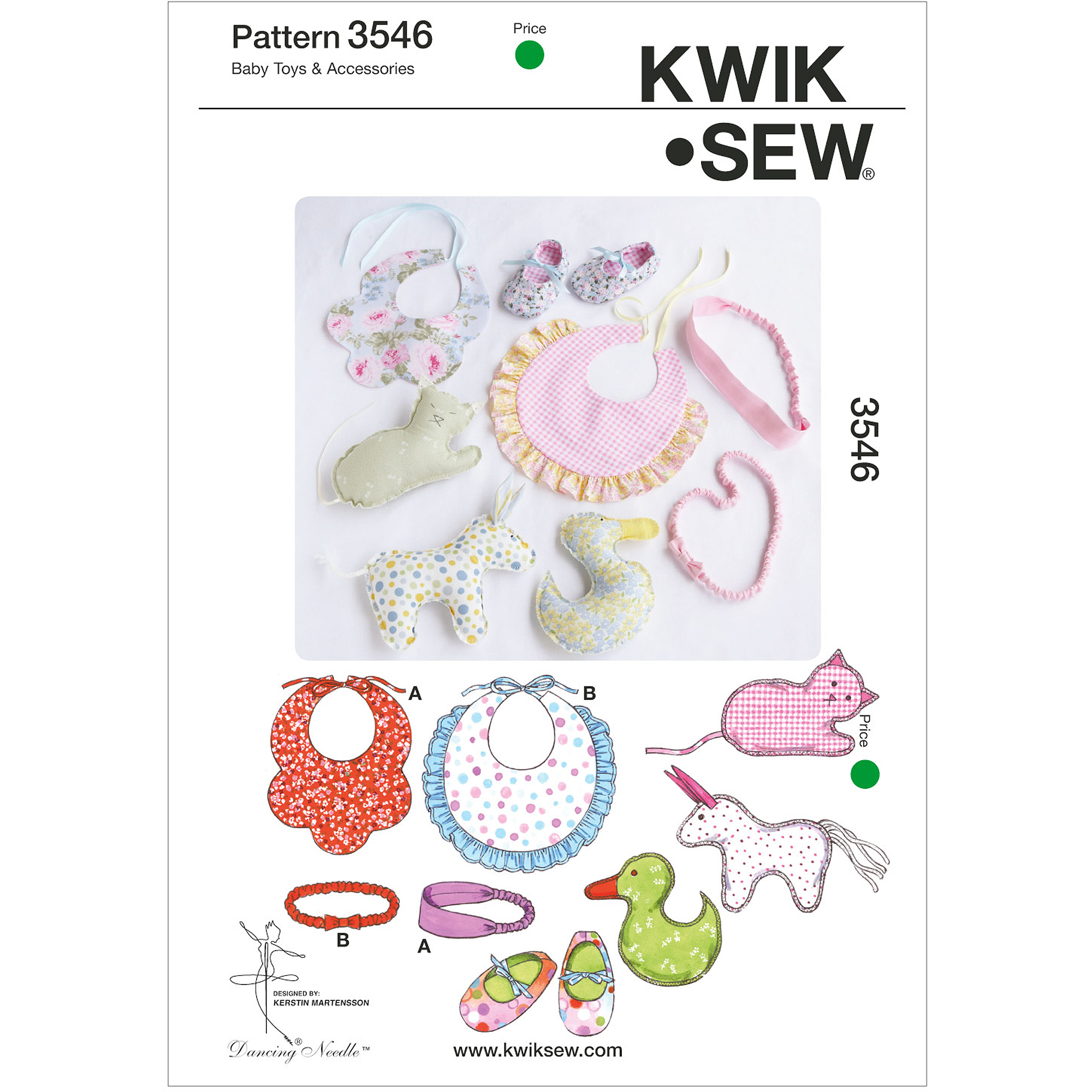 Kwik Sew Pattern Toys and Accessories