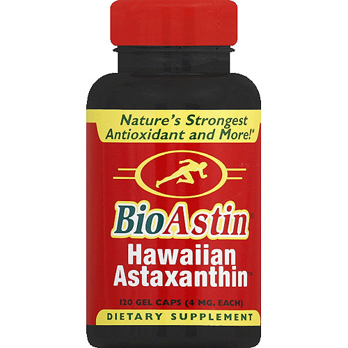 BioAstin Natural Astaxanthin 12 mg, 120 Gel Caps Joint Cellula