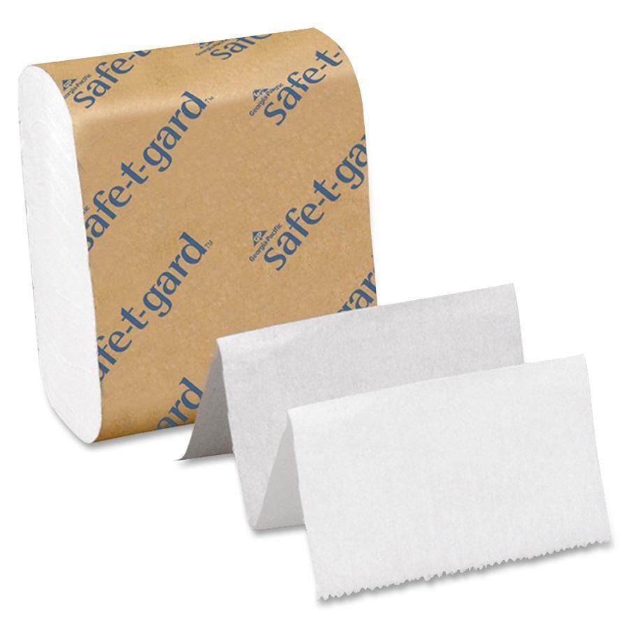 Georgia-Pacific, GPC10440, Safe-T-Gard Door Tissue, 40 / Carton, White