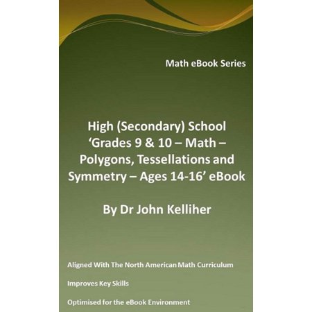 High (Secondary) School 'Grades 9 & 10 - Math – Polygons, Tessellations and Symmetry – Ages 14-16' eBook - eBook - Halloween Tessellations