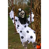 "Swinging 36"" Dead Clown Halloween Decoration"