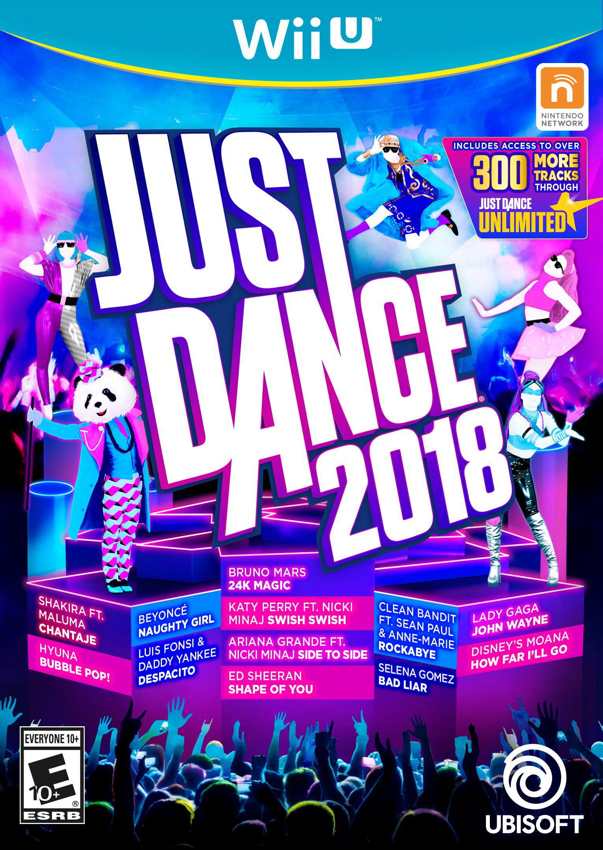 Just Dance 2018, Ubisoft, Nintendo Wii U, 887256028602