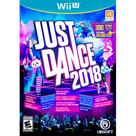 Just Dance 2018, Ubisoft, Nintendo Wii U, - Halloween Theme Just Dance