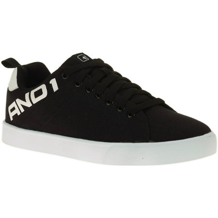 AND1 Men's Fundamental Low Top Lace Up Shoe - Black Low Top Chuck Taylors