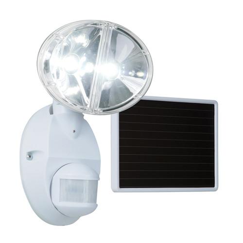 Cooper Lighting 180W Motion-Activated LED Solar Floodlight, White