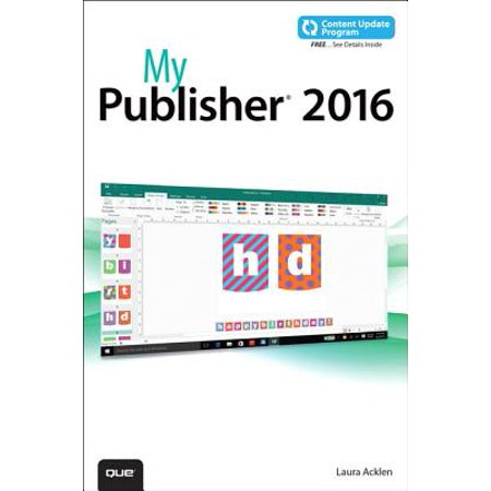 My Publisher 2016 (Includes Free Content Update