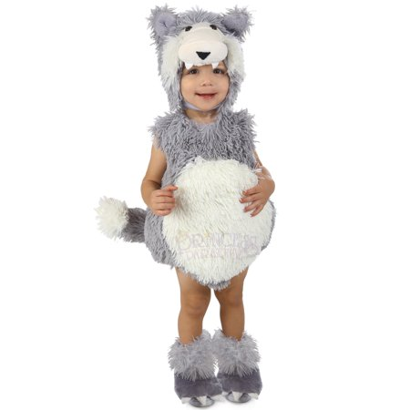 Vintage Beau the Big Bad Wolf Infant Costume (Big Bad Wolf Costumes)
