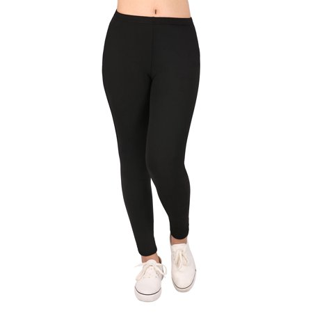 HDE Girl's Ultra Soft Leggings With Print Designs Full Ankle Length Comfy Pants - image 1 de 6