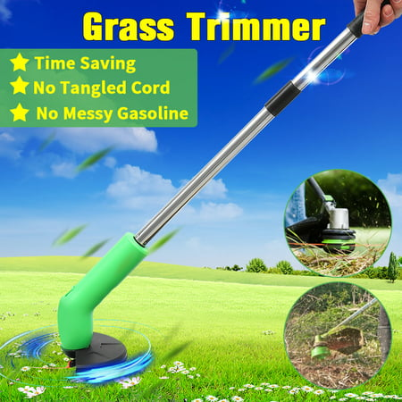 Cordless Grass Trimmer Cutter Mower Weed Lawn Cutting Garden Edging Ties Tool - image 1 of 1