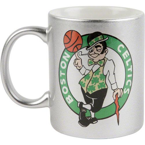 NBA - Boston Celtics 11 oz. Silver Mug