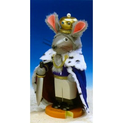 Steinbach Mouse King German Nutcracker-Limited Edition-Signed