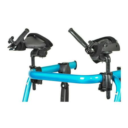 Trekker Gait Trainer Forearm Platform, Small, 1 Pair