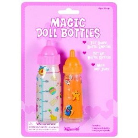 BABYDOLL Magic DOLL Bottles SET Of Two MILK & Juice girls toy