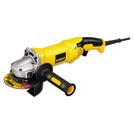 DeWalt D28115 High-Performance Angle Grinder, 4 1/2in to 5in Wheel, 2.3hp, 9,000 rpm