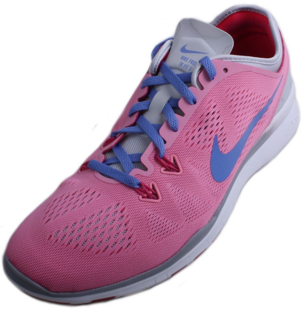 Nike Free Rose/Polar 5.0 TR Fit 5 Womens Rose/Polar Free Purple/Platinum/Fireberry Training Sneakers b84f4c