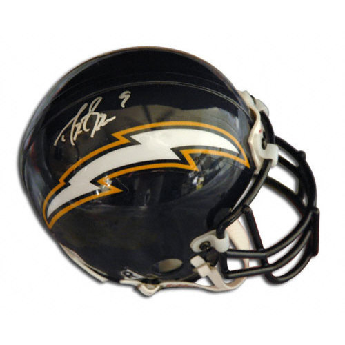 Nfl Drew Brees San Diego Chargers Autographed Mini