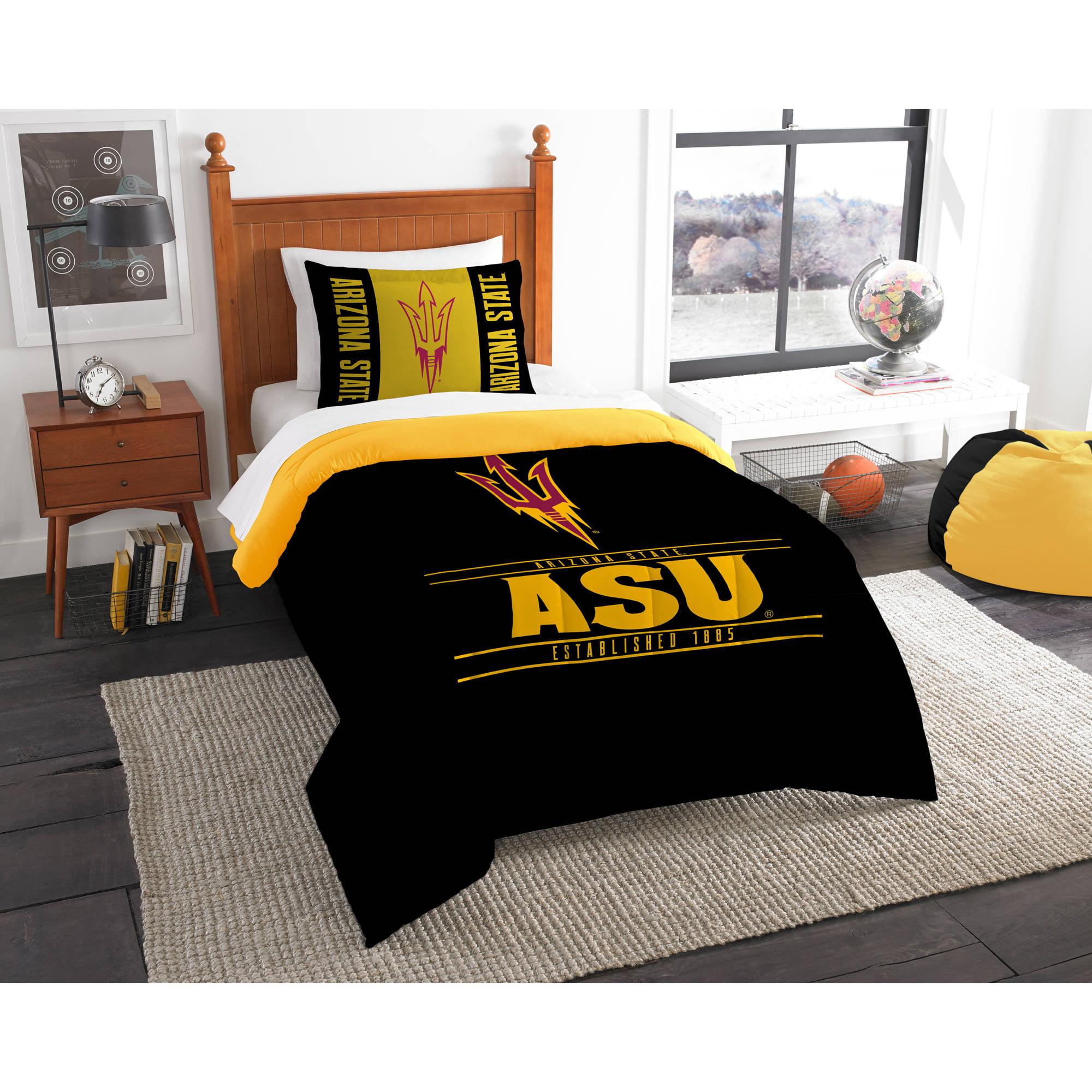"NCAA Arizona State Sun Devils ""Modern Take"" Bedding Comforter Set"