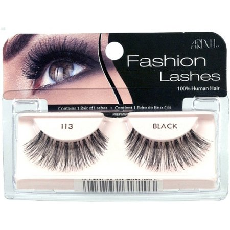 c0069e9a61d Ardell Fashion Lashes, Black [113] 1 ea (Pack of 4) - Walmart.com